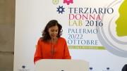 Patrizia Di Dio presidente nazionale del Terziario donna nel corso del suo articolato intervento