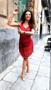 Stefania Brogin titolare di Moda CLEB 4 S.R.L e del marchio Paco Perez (abiti da tango) a Padova