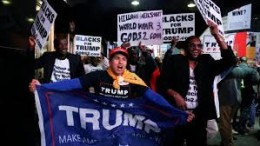 Ha vinto: i fans di Trump di ogni etnia  esultano