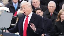 Il discorso inaugurale di Donald Trump