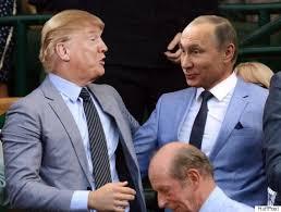 """Molte immagini simulate """"girano"""" sull'amicizia Trump - Putin"""