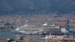 Uno scorcio del Porto di Palermo