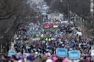 Washinton, gennaio 2017. Anche il vice presiente ha partecipato per la pima volta alla Marcia per la vita: Mike Prnce nominato da Trump