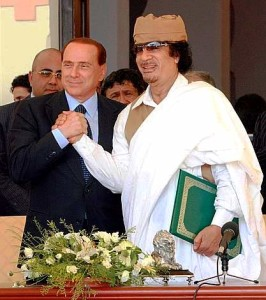 Eccoli in Libia: studiavano un modo pacifico di fruire l'uno delle ricchezze dell'altro (materie prime, know how)