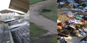 Tor di Valle com'è: le tribune, la pista, la monnezza...