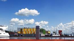 La sistemazione della parte - già fatiscente - del porto di La Spezia (Progetto Sigma Palermo)