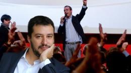 Ambedue in realtà declamano col pugno chiuso. Salvini è un comunista pentito. Ora è il contrario. Ma chi credesse, come qualcuno fa, che non fa proseliti a Napoli, si sbaglia: in Campania e in Sicilia...