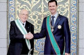 Anche Napolitano capiva l'importanza di Assad e della sua Siria
