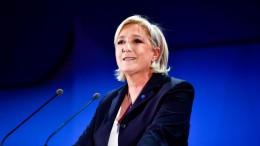 Marine Le Pen ha festeggiato ugualmente: mai tanti voti e spera ugualmente.