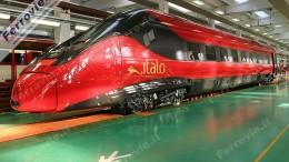 Ultimissima ETR.600/610 di Trenitalia e FFS fabbricato in Italia dalla Alstom  (foto firmata David Campione)