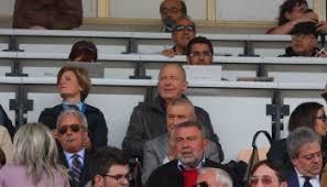 Allo Stadio: una foto che ritrae (al centro) A. Morace in terza fila e G. Fazio in prima fila