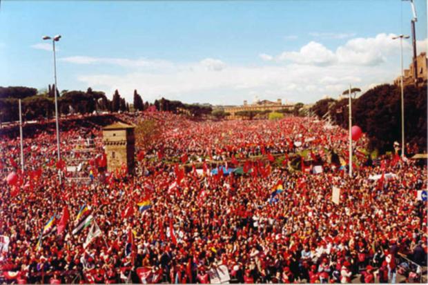 Un momento storico: al Circo Massimo per la Vita 23 marzo 2002