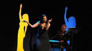 Maria Letizia Gorga ha celebrato Dalida in palcoscenico a Roma