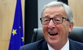 Vedi come ride Juncker: contento lui...