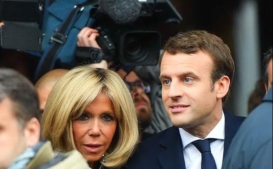 """Macron e l'anziana (+ 24 anni) moglie """"Si amano - ha testimoniato Claudia Cardinale, che li conosce - e lui vuole gli immigrati come me che sono un'immigrata tunisina..."""""""