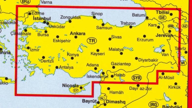 Le carte geografie parlano da sole: sopra il Mar nero, con Russia, Kazakistan, Uzbekistam. Turchia dappertutto, fra Siria, Israele, Egitto. Il Mediterraneo è già potente. L'europa mediterranea si unirà...