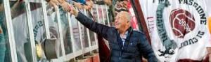 Vittorio Morace il grande vecchio noin troppo vecchio, è uomo riservato ma non ha resistito a portare in auge il Trapani Calcio. La popolarità a Trapani è inevitabile...