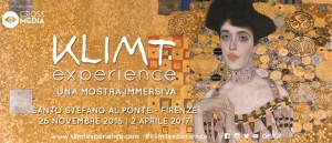 Klimt experience Firenze particolare dal materiale pubblicitario