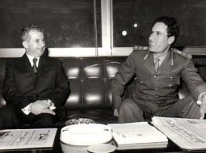 Le amicizie pericolose: Ceausescu con Gheddafi