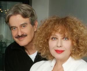 Giuseppe Pambieri qui con Lia Tanzi in una foto di qualche anno fa
