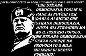 Mussolini conservò la propria mentalità socialista ma non era certo marxista. Credeva nel socialismo come giustizia sociale, nelle pari opportunità, nella voglia di lavorare e produrre...