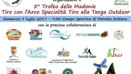 Il manifesto del Campionato organizzato dagli Arcieri Grifoni