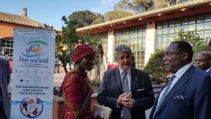 Presentazione dell'evento alla Giornata d'Africa
