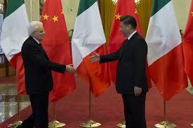 """Il presidente Mattarella ci risulta sia stato il primo ad usare da poco ufficialmente l'espressione """"via della seta"""" che, per quanto limitativa, serve a rappresentare le nuove prospettive verso il far east e l'Africa."""