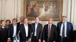 Una gran coalizione, una task force siciliana converge stavolta su Musumeci: vediamo Scoma, La Russa, Cordaro, Miccichè, Armao, Lagalla e  dalla foto ne mancano...