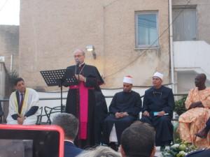 Invocazione inter-religiosa. L'intervento di Mons. Mogavero