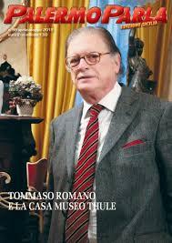 Tommaso Romano uno dei più attivi intellettuali siciliani in copertina