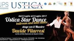 Ustica. Estate 2017. Lezioni di danza al Villaggio Spalmatore
