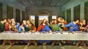 """L'ultima cena di Leonardo Da Vinci. E' massimo esempio di artista medievale al contempo scienziato. Fu grande soprattutto nella pittura e nel disegno. Nel rinascimento le  varie figure, inclusa quella dei filosofi, si distinsero con l'apparire di veri e propri scienziati:  Galilei, Keplero, Newton... Gli inglesi cercano a Milano dove sia """"The last supper"""" e difficilmente qualcuno sa indicargliela con questo nome..."""