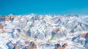 Alba di Canazei - Bellamonte - Canazei - Campitello di Fassa - Civetta (Alleghe) - Costalunga - Pordoi - Sella - Pera - Pozza di Fassa - Ronchi (Moena) - Vigo di Fassa: i campi da sci italiani sono tutti innevati a partire dagli Appennini per non dire le Alpi. Sarà tutta acqua in primavera ed estate, mentre i ghiacciai alpini  già si consolidano...