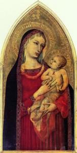 Madonna con Bambino di Ambrogio Lorenzetti