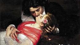 """Caroulus Duran Le baiser (Palais des Beaux arts de Lille), particolare. In letteratura e nell'arte, se dicessimo che il 99% degli amori sono """"etero"""" avremmo ragionato per difetto."""