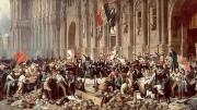 Vittoria! La Sicilia ritorna per un po' indipendente e Palermo Capitale. Si adotta il tricolore caro a Napoleone e G. Murat. Ma già col verde italiano.