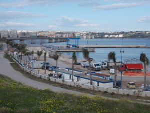 """Il nascente """"Porto Xifonio"""" : prime barche già quest'anno..."""