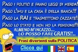 """Un Omer italiano si dispera e non a torto contro le """"estorsioni legaliizzate""""."""