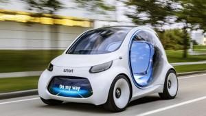Daimler studia per il car sharing taxi elettrico senza tassista