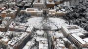 Roma, Piazza del Popolo in una foto scattata anni fa.
