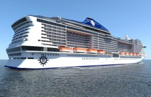 """STX France e MSC Crociere annunciano l'avvio dei contratti per la costruzione delle navi classe """"Meraviglia-Plus""""."""