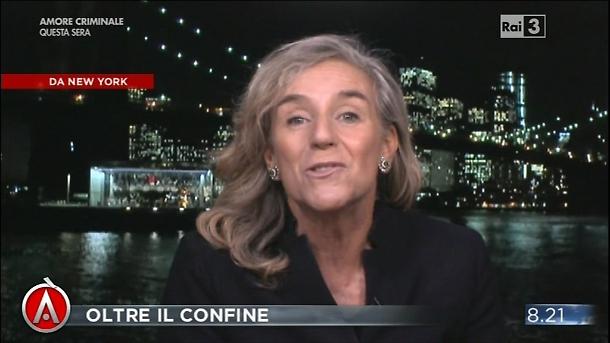 L'aspetto tipico, ben poco rassicurante, di Giovanna Botteri.