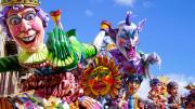 Un momento del Carnevale di Termini Imerese, uno dei più antichi d'Italia