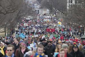Marcia per la Vita in questi giorni nella Grande Mela.