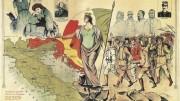 """L'Italia sognata ed eroica del Risorgimento. Servono le parole che Dante fa dire ad Ulisse (rivolto al suo equipaggio davanti alle Colonne d'Ercole) : """"...considerate la vostra semenza, fatti non foste a viver come bruti, ma per seguir virtute e conoscenza!"""""""
