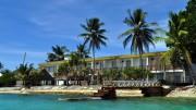 Un hotel alle Tuvalu dove la vita sull'acqua non è una novità...