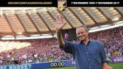 Maurizio Zamparini nei giorni degli applausi che periodicamente fanno ritorno sugli spalti della Favorita.