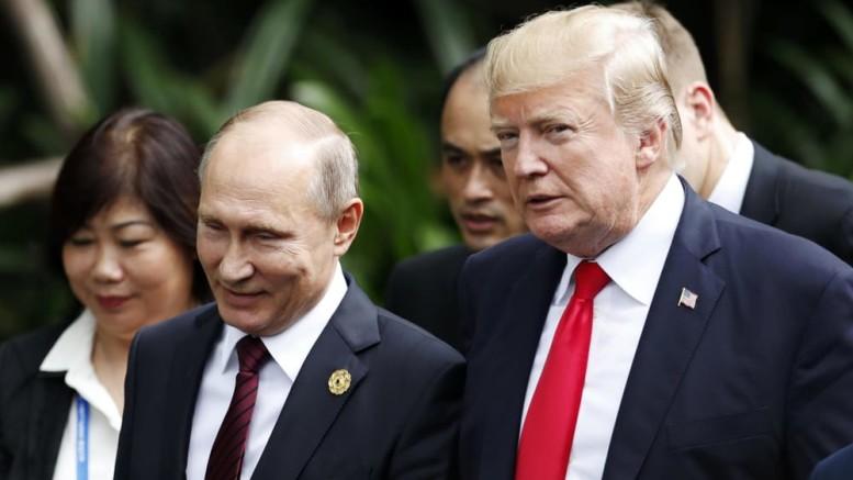 Trump e Putin quando - in piena Russia - poterono parlarsi cordialmente ed esprimersi tutta la volontà personale di aprire un dialogo che avrebbe ...riscritto la storia.