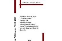 Una poesia al mese 2018 di Rosalba Anzalone copertina